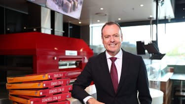 Heat is on: Dominos chief executive Don Meij has vowed zero tolerance.