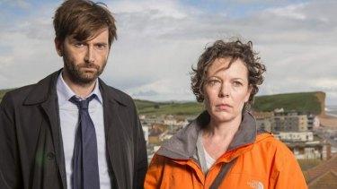 British crime drama Broadchurch moves on and upward under