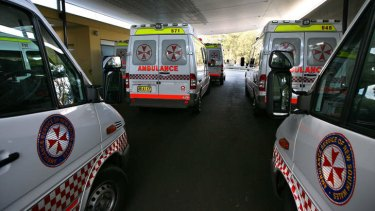 Ambulance crews are waiting an average of nearly 32 minutes to discharge patients into hospitals.