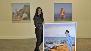 Polixeni Papapetrou and works from her exhibition The Dreamkeepers.