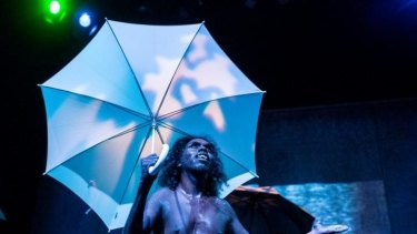 Djuki Mala (The Chooky Dancers) fuse traditional Aboriginal and contemporary forms of dance, comedy and clowning with natural athleticism .