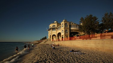 Water-front suburbs such as Cottesloe could be under threat by rising sea levels.