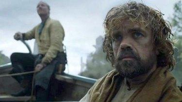 Tyrion and Jorah enter Valyria.