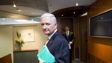 """Nick Greiner, the chairman of Infrastructure NSW ... """"I don't actually have a problem with my legacy."""""""