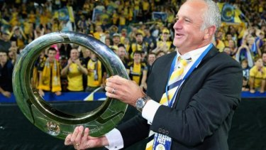 Sydney bound?: Former Central Coast coach Graham Arnold is favoured to take the Sydney FC job.