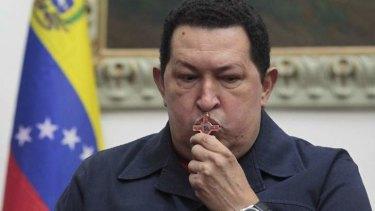 Dead ... Hugo Chavez.
