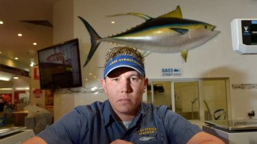 Jeremy Muller's Gippsland seafood business stands to lose tens of thousands of dollars in trade as orders for his fish placed by the Morwell TAFE restaurant are cancelled.