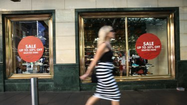 The July result was worse than market forecasts of a 0.3 per cent rise in retail trade.