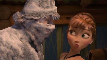 Disney's <i>Frozen</i>.