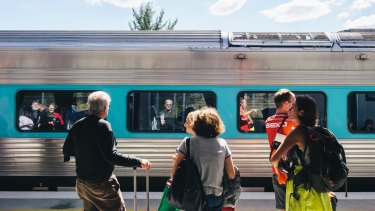 A comfortable high-speed train would encourage more people to visit Canberra.