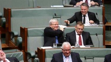 Kevin Rudd: will he oust Julia Gilard?