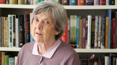 Melbourne Prize for Literature shortlister Brenda Niall.