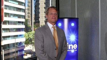 Former Nine chairman David Haslingden.