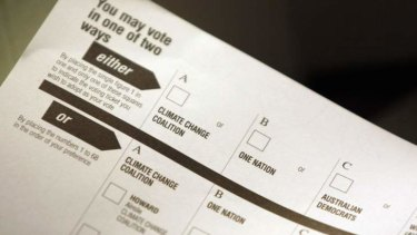 To minimise the donkey vote, different versions of the ballot paper should be produced.
