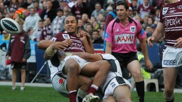 Back in the news ... NRL clubs are threatening a breakaway competition.