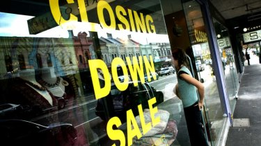 Retailers are paying the price for consumer caution.