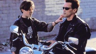 Ed Furlong and Arnold Schwarzenegger in Terminator 2: Judgement Day
