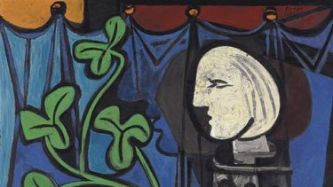 Nude Green Leaves, and Bust, a 1932 painting by Pablo Picasso.