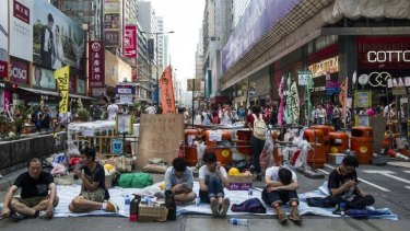 Pro-democracy protests are just one headache for Hong Kong Chief Executive C.Y. Leung.