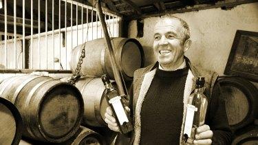 Tasmanian rye whisky maker Peter Bignall.