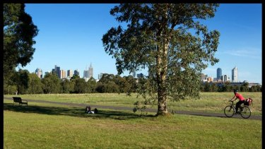 The east-west link is predicted to slice land from Royal Park.
