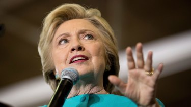Blown out of the water: Hillary Clinton.