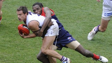 A are sight in the AFL these days ... Byron Schammer.