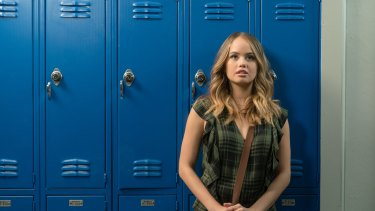 Shallow and narcissistic: Debby Ryan as Patty Bladell in Insatiable.