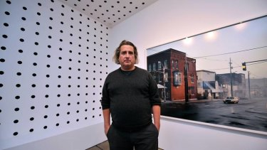 Photographer Gregory Crewdson at The Centre for Contemporary Photography in Fitzroy.