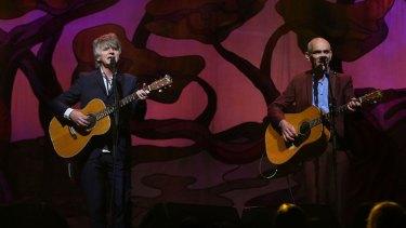 Neil Finn and Paul Kelly.