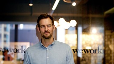WeWork co-founder Miguel McKelvey was in Sydney for WeWork's official launch.