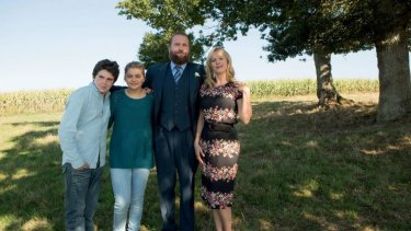 Luca Gelberg, Louane Emera, Francois Damiens and Karin Viard star in French hit film <i>The Belier Family</i>.