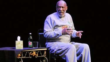 Tarnished reputation: Bill Cosby performs on stage in Florida on November 21.