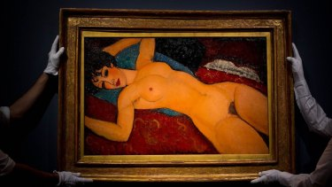 Shanghai billionaire Liu Yiqian paid $US170.4 million for a 1918 Modigliani portrait of a reclining nude at a 2015 New York auction, using his credit card.