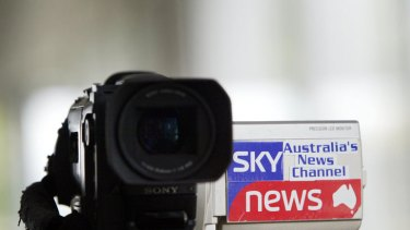 Sky News... knocked back by the government for the Australia Network tender