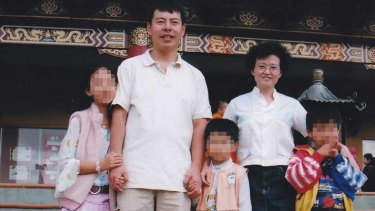 The Lin family of Sydney. The girl on the left is the only surviving family member.