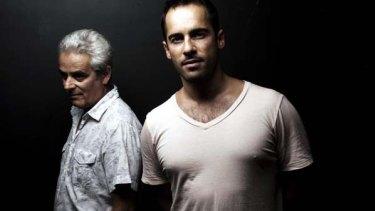 Stars ...  Daniel Mitchell and Alex Dimitriades.