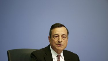 If it weren't for Greece, things could be looking brighter for ECB chief Mario Draghi.