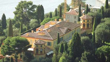 La Leopolda: The sumptuous villa on the Cote d'Azur is set on eight hectares at Villefranche-sur-Mer, near Nice.