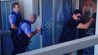 Officers targeting trouble spots in early morning raids.