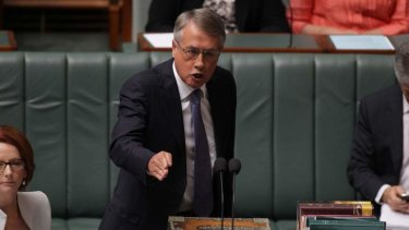 Treasurer Wayne Swan. Figures show the mining tax raised $126 million in its first six months.