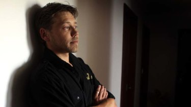 Light in a dark place … Luke Emanuel found the domestic violence program, which has reduced reoffending, has helped him spot trouble and walk away from it.