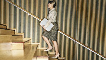 Sitting not so pretty: it's important to get up and move around regularly at work if you're largely desk-bound.