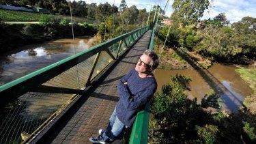 David Bridie at Merri Creek.