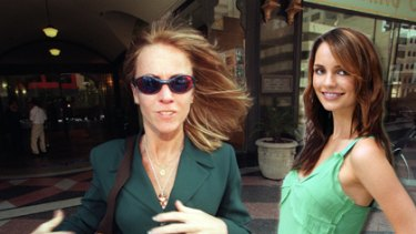 Blow to the series ... Wendy Hatfield (left) and actress Jessica Tovey (right), who plays Ms Hatfield in the program.
