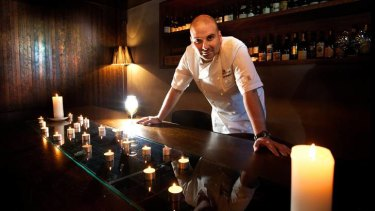 George Calombaris is the special guest at Melbourne's first Secret Dining Society dinner.