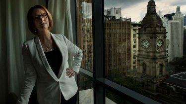 Prime Minister Julia Gillard in Melbourne.