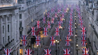 Central London has been declared an anarchy-free zone in the lead up to the royal wedding, with police keeping and eye on trouble makers.