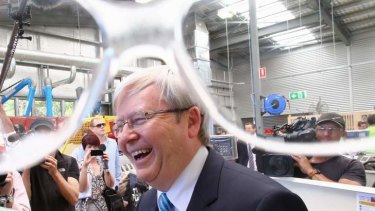 Prime Minister Kevin Rudd has ruled out doing any deals to form government.