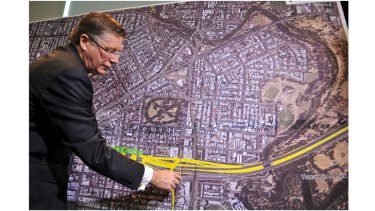 Scott Charlton cast doubt on the government's proposed funding model for the project.